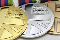 Medal Designs: The Skills Show 2012 on Behance #competition #silver #bronze #gold #award #medal