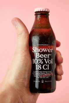 Finally, Someone Made A Beer For Drinking In The Shower