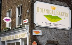 Signs of the Times Botanical Bakery #botanical #bakery #lettering #branding #design #logo #foodie #exterior #signage #brier #gourmet #david #typography