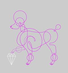 Pristine-pooch.jpg 471×510 pixels #illustration #colour #will scobie