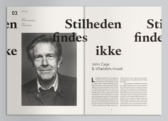 Geiger Magazine (Mads Thorsoe) #design #layout