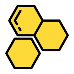 See more icon inspiration related to honey, honeycomb, food and restaurant, farming and gardening, organic and bees on Flaticon.