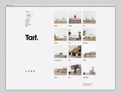 Tait #grid #layout #website #web