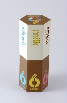 Chocolate Box Design (Nestle) on Packaging Design Served #packaging #prototype #chocolate #nestl