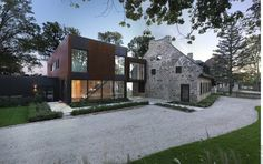 Old Home Meets Contemporary Architecture: Bord-du-Lac House in Canada