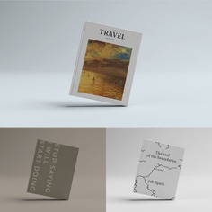 Book cover template Free Psd. See more inspiration related to Mockup, Cover, Book, Template, Books, Book cover, Mock up, Mockups, Up, Realistic, Mock ups, Mock and Ups on Freepik.