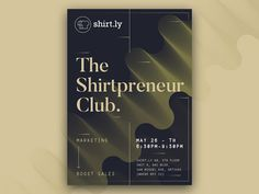 The Shirtpreneur Club Poster