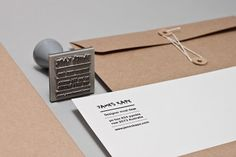 FFFFOUND! #letter #stamp #envelope #branding
