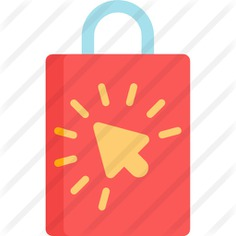See more icon inspiration related to commerce and shopping, online store, online shopping, shopping bag, shopper, online shop, shopping and bag on Flaticon.