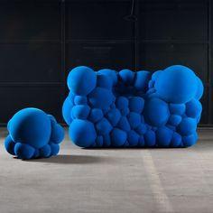 Dezeen architecture and design magazine #couch #bubbles