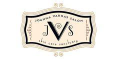 Joanna Vargas Salon logo #typographic #logo #design #lettering