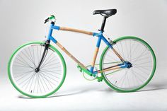 A #lightweight, affordable #bamboo #bicycle – an #eco-friendly mode of #transportation that gives back to the #community!