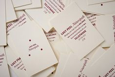 New Work: Lucy Peel, Naturopath | New at Pentagram | Pentagram #pentagram #cards #identity #business