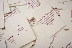 New Work: Lucy Peel, Naturopath | New at Pentagram | Pentagram #pentagram #cards #identity #business