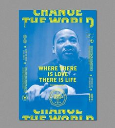 Change The World | ALONGLONGTIME #pink #blue #poster #alonglongtime