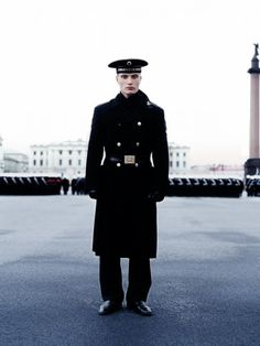 Sowjet Uniform by Waldemar Salesski #waldemar #sowjet #soldier #military #russia #male #portrait #photography #man #salesski #uniform