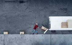 Cheerful Aerial Photography by Sebastien Staub