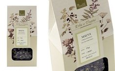 Il racconto del tè na rede Behance #packaging #botanic #illustration #tea #pack