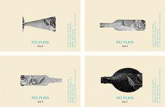 Pez Playa - Estudio de diseño gráfico e imagen corporativa RUN DESIGN #design #graphic #identity