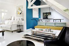 Elegant parisian duplex representative for Sarah Lavoine's style - www.homeworlddesign. com (1) #paris #apartments #interiors #decor #duplex