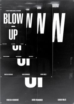 Blow up #design #poster #blow up #shin dokho