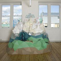 Hattie Newman | Fubiz ™ #sculpture #paper