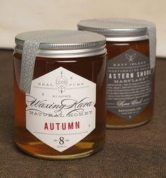 Waxing Kara : Honey Products on Behance #honey