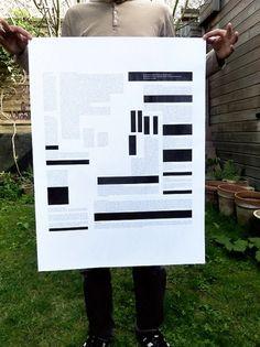 roland barthes par roland barthes : ATELIER DESIGN GRAPHIQUE #roland #print #black #poster #barthes