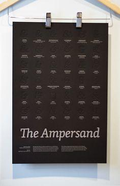 Final trimmed Ampersand poster