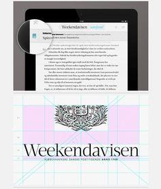 Google Chrome, www.behance.net/gallery/Weekendavisen iPad app/1758482