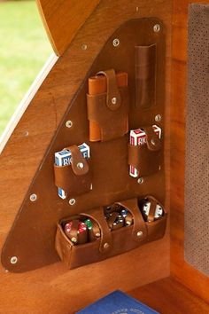 Look Out for the Woody | GBlog #caravan #wood #woody #bar #leather