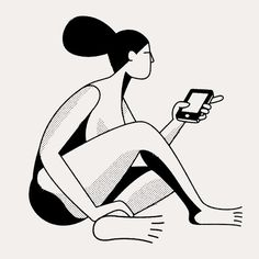 Black and White Drawings by Christopher Delorenzo