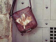 Graphics for fashion brand #bag #bulgaria #leaf #messenger #tsanev #brand #leather #sofia #maple #fashion #graphics