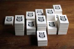 MORDANGO #ink #business #card #print #letterpress #seal #illustration #logo