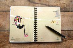 Prinz Apfel Calendar 2014 #prinzapfel #illustration #calendar #wwwprinzapfelcom