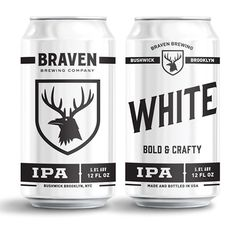 Braven Brewing | Two Arms Inc. #packaging #beer #can