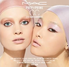 Our innovative colour correcting creams and powders enhance and perfect your skin tone, instantly retexturizing and blurring imperfections i #mac #skincare