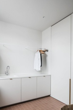 Laundry room. Appartement 13.10 by Atelier 10.8. © Cafeïne. #laundryroom