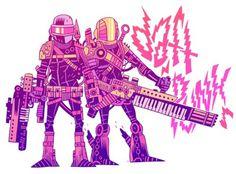 http://mrhipp.tumblr.com/ #daft #punk