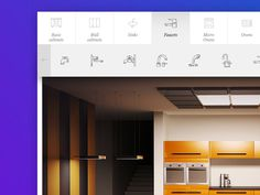Kitchen Customisation  #userinterface #WebApp #Furniture #ecommerce #interactive #home #decor