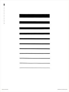 Mies van der Rohe, by Mike McQuade #graphic design #design #creative #poster #inspiration #lines