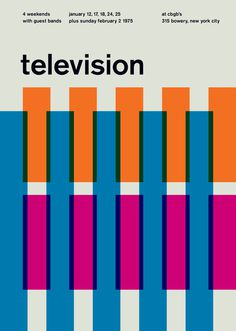 television at cbgb's, 1975 - swissted