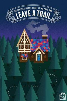 Wander Blog #house #wander #illustration #john #poster #jensen