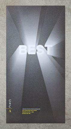 CSCA Poster on Behance #typo