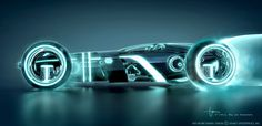Tron: Legacy | Light Runner Design by Daniel Simon #animation #movie #tron #3drender #3dmodeling #legacy #runner #disney #film #light #3d
