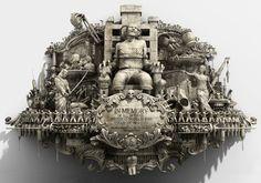 Área Visual: Las animaciones de Mécanique Générale