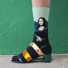 Art Masterpieces Recreated on Socks