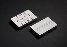 The Bone Line designed by Inhouse