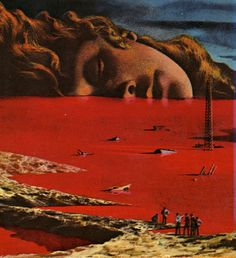 Karel Thole The general zapped an angel, 1970 #head #scale