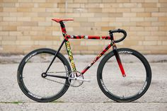 Beautiful Bicycle: Stanridge Speed x Death Spray Custom Highstreet Track #speed #single #bike #fixed